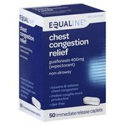 Equaline Chest Congestion Relief, 400 mg, Immediate Release Caplets