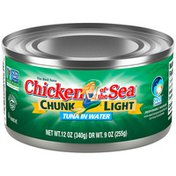 Chicken of the Sea Light Tuna in Water
