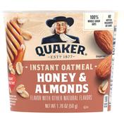 Quaker Instant Oatmeal Honey Almond