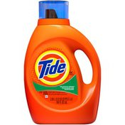 Tide Mountain Spring Scent Liquid Laundry Detergent, 100 oz, 64 loads