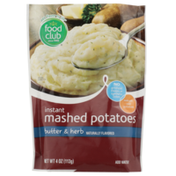 Food Club Butter & Herb Instant Mashed Potatoes