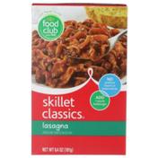 Food Club Skillet Classics, Lasagna Pasta And Tomato Sauce Mix