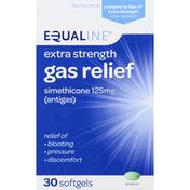 Equaline Gas Relief, Extra Strength, 125 mg, Softgels