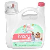 Ivory Snow Snow Stage 2: Active Baby, Liquid Laundry Detergent