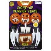 Pumpkin Pro Pumpkin Fangs, Light-Up