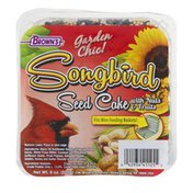 Brown's Garden Chic! Songbird Seed Cake with Nuts & Fruits