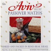 Aviv Matzos, Passover