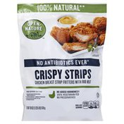 Open Nature Crispy Strips Chicken Breast Strip Fritters With Rib Meat