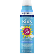 Equaline Sunscreen, Continuous Spray, Broad Spectrum SPF 50