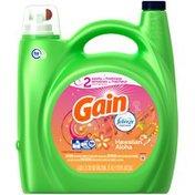 Gain Liquid Laundry Detergent with Febreze Freshness, Hawaiian Aloha Scent, 81 loads, 170 fl oz Laundry