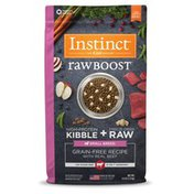 Instinct Raw Boost Small Breed Real Beef Recipe Grain-Free Dry Dog Food