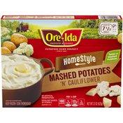 Ore-Ida Home Style Mashed Potatoes 'N' Cauliflower Frozen Side Dish