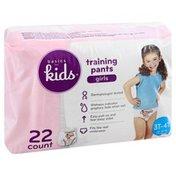 Basics For Kids Training Pants, 3T-4T (32-40 lb), Girls
