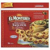 El Monterey Taquitos, Steak & Cheese