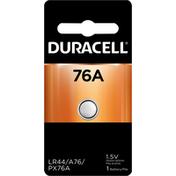 Duracell Battery, Alkaline, 76A, 1.5V