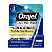 Orajel Moisturelock Cold Sore Symptom Treatment, Cream
