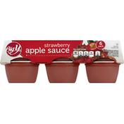 Big Y Apple Sauce, Strawberry