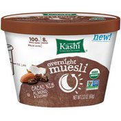 Kashi Overnight Muesli Cacao Nib Almond & Coconut Breakfast Cereal in a Cup