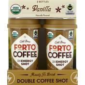 Forto Coffee Shot, Double, Vanilla, Cold Brew