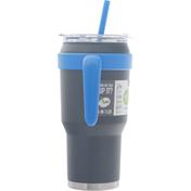 Reduce Mug, Cold 1, Charcoal, 40 Ounce