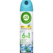 Air Wick Air Freshener, Fresh Waters Fragrance, 6 in 1