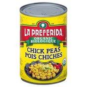 La Preferida Chick Peas, Organic