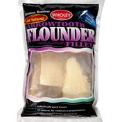 Wholey Flounder, Arrowtooth, Fillets, Skinless, Boneless