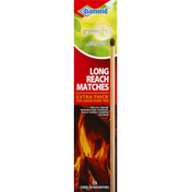 Diamond Matches, Long Reach, Extra Thick