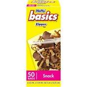 Hefty Snack Zipper  Bags