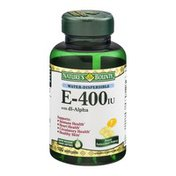 Nature's Bounty E-400iu with dl-Alpha Softgels - 100 CT