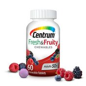 Centrum Adults 50+ Fresh & Fruity Chewables, Adults 50+ Fresh & Fruity Chewables