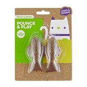Petlinks Compressed Catnip Fish Toys