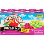 Apple & Eve White Grape Raspberry  100% Juice