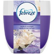 Febreze Vanilla & Moonlight Candle Air Freshener