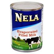 Nela Evaporated Filled Milk