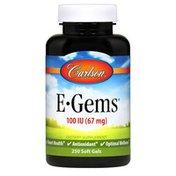 Carlson Labs E-Gems 100 IU