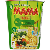 Mama Instant Noodles, Vegetable Flavor