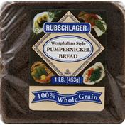 Rubschlager Bread, Westphalian Style Pumpernickel
