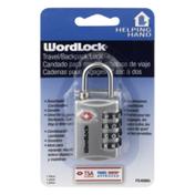 Helping Hand Wordlock Travel/Backpack Lock