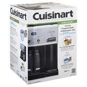 Cuisinart Coffeemaker, Coffee Plus, Programmable and Hot H2O System, 12-Cup