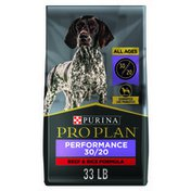 Purina Pro Plan Active, High Protein Dog Food, SPORT 30/20 Beef & Rice Formula