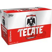 Tecate Original Mexican Lager Beer