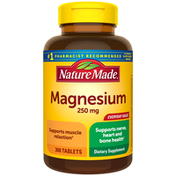 Nature Made Magnesium Oxide 250mg Tablets