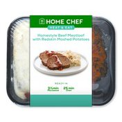 Home Chef Homestyle Meatloaf with Redskin Mashed Potatoes