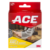 Ace Compression Ankle Support L/XL Level 1 Support