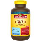 Nature Made Burp-Less Fish Oil 1200 mg Softgels