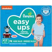 Pampers Easy Ups Training Underwear Boys Size 6 4T-5T