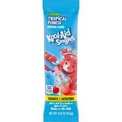 Kool-Aid Singles Sugar-Sweetened Tropical Punch Powdered Soft Drink