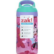 Zak! Sports Bottle, Minnie Mouse, 16 Ounce
