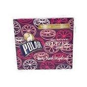 Polar Berry Sweet Grapefruit 100% Natural Seltzer